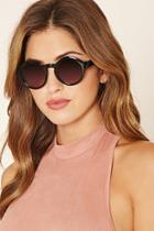Forever21 Glossy Round Sunglasses
