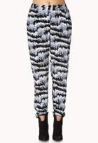 Forever21 Abstract Harem Pants