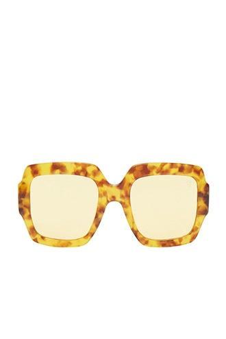 Forever21 Melt Oversized Square Sunglasses