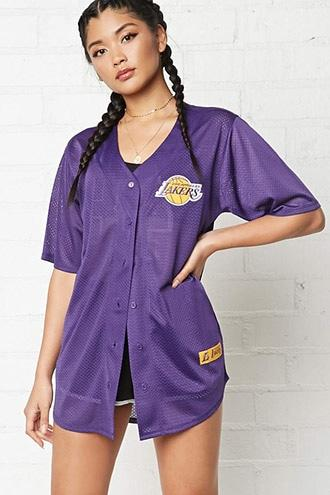Forever21 Nba Lakers Jersey Shirt