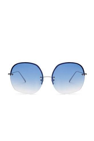 Forever21 Ombre Premium Round Sunglasses