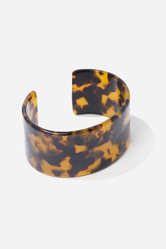 Forever21 Tortoiseshell Cuff Bracelet