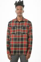 Forever21 Fitted Plaid Shirt