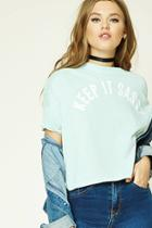 Forever21 Keep It Sassy Graphic Tee