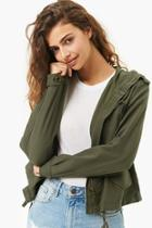 Forever21 Lightweight Hooded Jacket