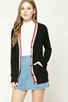 Forever21 Ribbed Striped Cardigan