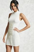 Forever21 Ribbed Corset Bodycon