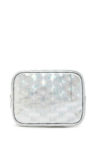 Forever21 Geo Patterned Makeup Bag