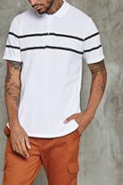 Forever21 Stripe Polo Shirt