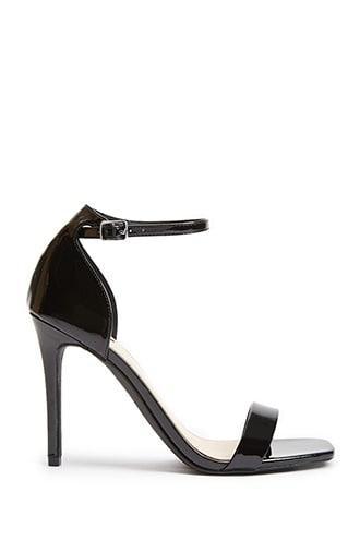 Forever21 Square-toe Stiletto Sandals