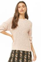 Forever21 Brushed Marled Ribbed Sweater