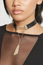 Forever21 Drop-chain Collar Choker