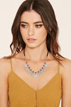 Forever21 Burnished Heart Charm Necklace