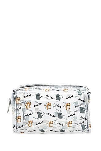 Forever21 Dab Cat Makeup Bag