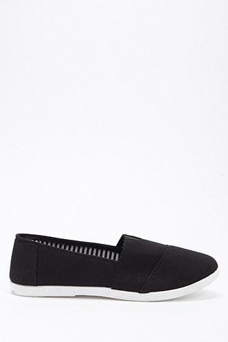 Forever21 Slip-on Canvas Sneakers