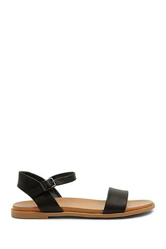 Forever21 Faux Leather Strap Sandals