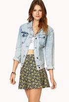 Forever21 Rosebud Skater Skirt