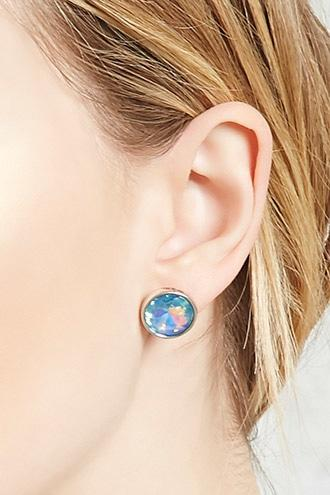 Forever21 Iridescent Stud Earrings