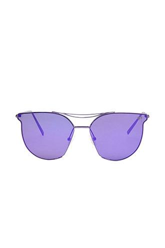Forever21 Melt Cutout Cateye Sunglasses