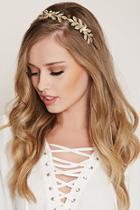 Forever21 Floral Faux Pearl Headband
