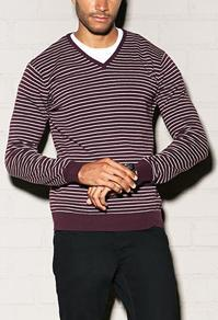Forever21 Classic Striped Sweater