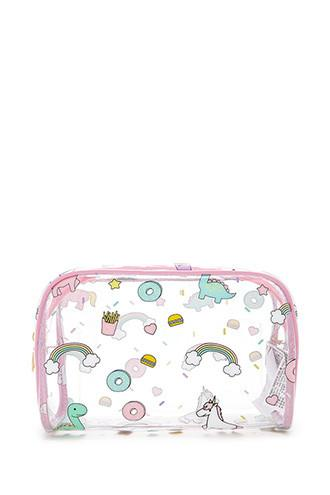 Forever21 Fast Food Unicorn Makeup Bag