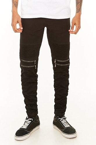 Forever21 Victorious Ribbed Panel Drawstring Pants