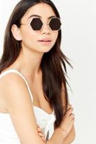 Forever21 Hexagonal Lens Sunglasses