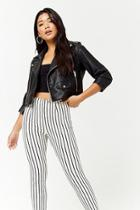 Forever21 Striped Woven Pants