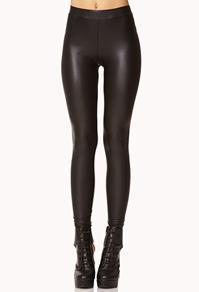 Forever21 Faux Leather Leggings