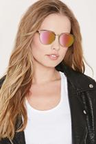 Forever21 High-shine Round Sunglasses