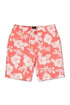 Forever21 Hibiscus Floral Print Shorts
