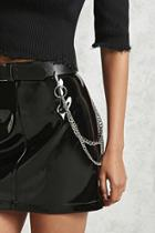Forever21 Faux Leather Chain Belt