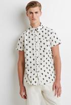Forever21 Cactus Print Shirt