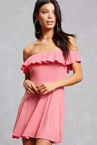 Forever21 Flounce Fit & Flare Dress