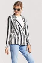 Forever21 Double-breasted Stripe Blazer
