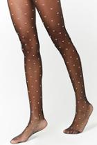 Forever21 Sheer Heart Tights
