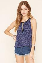 Forever21 Ditsy Floral Top