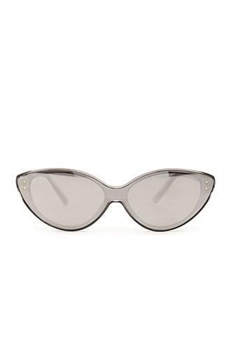 Forever21 Reflective Cat-eye Sunglasses