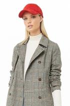 Forever21 Houndstooth Double-breasted Jacket