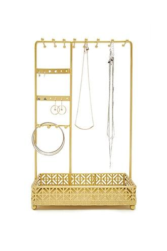 Forever21 Metallic Jewelry Stand