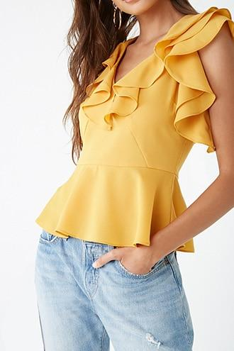 Forever21 Flounce Princess Top