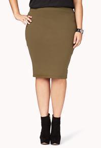 Forever21 Knit Bodycon Skirt