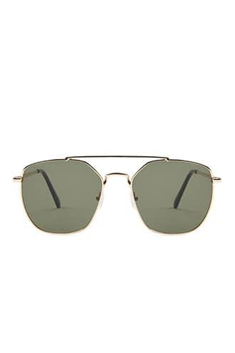 Forever21 Classic Hexagon Sunglasses