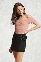 Forever21 Mini Wrap Skirt