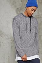 Forever21 Marled Hooded Pullover