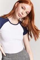 Forever21 Stretch-knit Raglan Tee