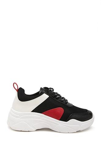 Forever21 Low-top Colorblock Sneakers
