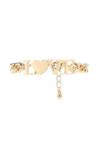 Forever21 Love Chain Bracelet