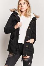 Forever21 Faux Fur Parka Jacket